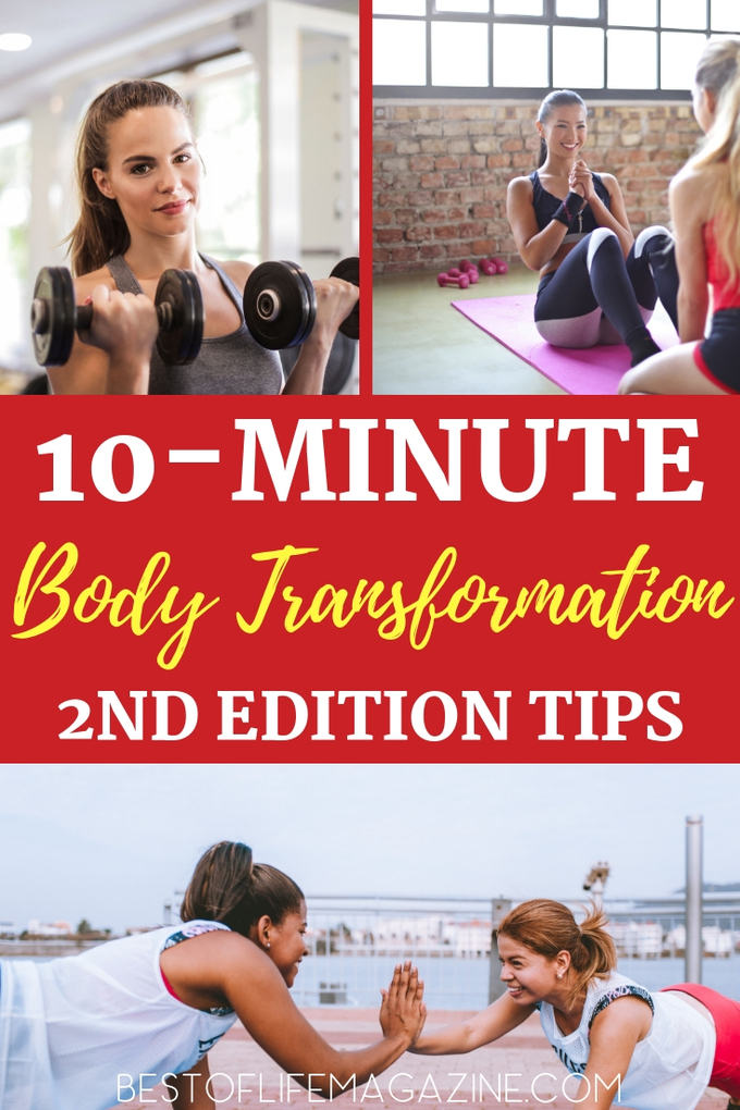 Jillian Michaels is back with her 10 Minute Body Transformation Second Edition workout and these tips will help you experience success along the way! Jillian Michaels Workouts | Workout Ideas | Exercise Routines | At-Home Workouts | Full Body Workouts #jillianmichaels #workouts via @amybarseghian