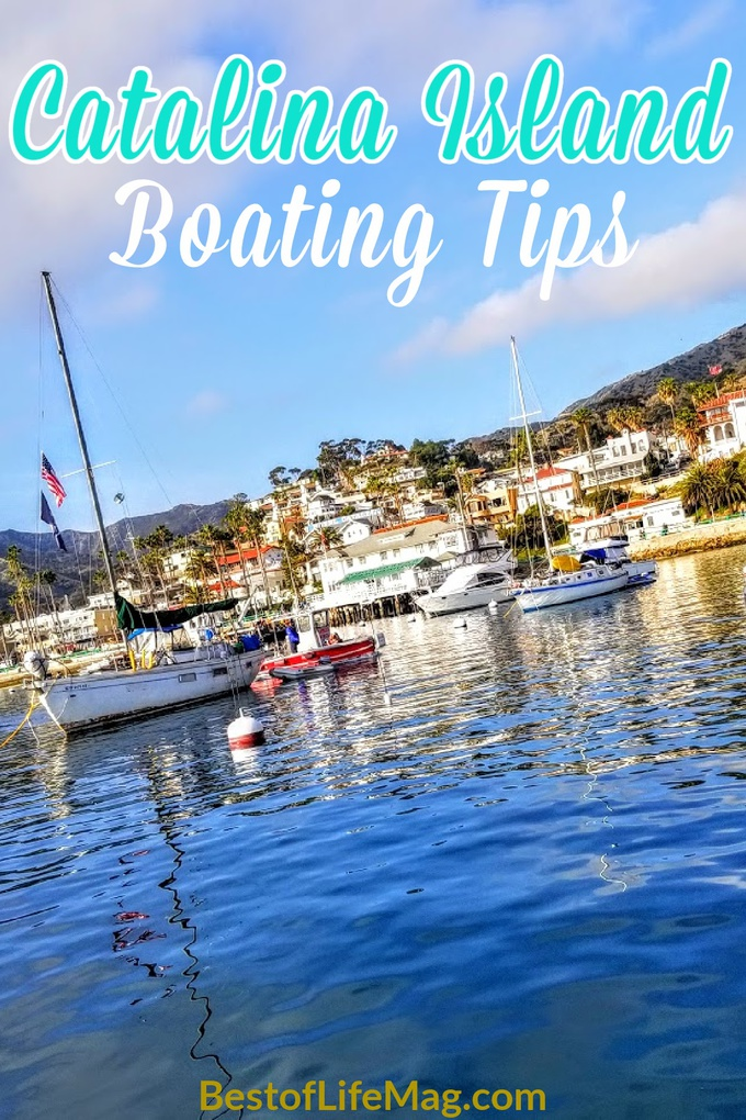Catalina Island boating tips will help you plan for your trip to the island and know what to expect when you arrive at this island off the coast of California. Things to do on Catalina Island | Catalina Island Travel Tips | Boating Tips | Travel Tips #travel #boating via @amybarseghian