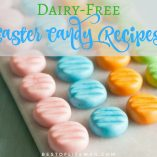 Why buy candy eggs filled with cream when you can make your very own dairy free Easter candy and enjoy sweets just like everyone else. Dairy Free Recipes | Dairy Free Treats | Dairy Free Holiday Recipes | Healthy Easter Recipes | Healthy Recipes for Kids | Dairy Free Candy Recipes