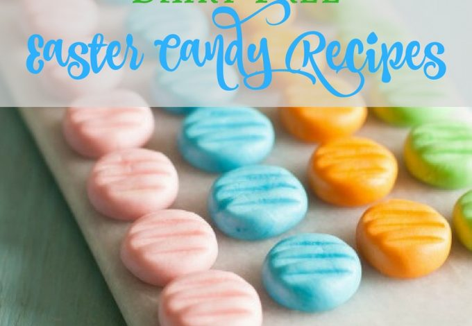 Why buy candy eggs filled with cream when you can make your very own dairy free Easter candy and enjoy sweets just like everyone else.