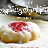 Our raspberry thumbprint cookies recipe is easy to make and the most popular cookie recipe EVER! They make the perfect dessert for parties, holiday gathering, and will be requested time and time again! Cookie Recipes | Thumbprint Cookie Recipes | What are Thumbprint Cookies | How to Make Thumbprint Cookies