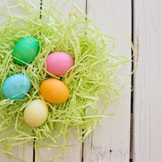 Dairy Free Easter Candy Recipes Green Nest with Tiny Easter Eggs