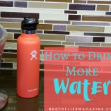 Knowing how to drink more water per day can help improve your overall health and energy each and every day. Health Tips | Tips for Drinking More Water | Health Benefits of Water | Why is Water Important