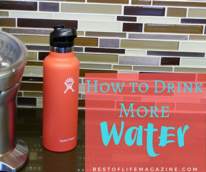 Knowing how to drink more water per day is only half the battle, we also need to implement these ways to get it done right.