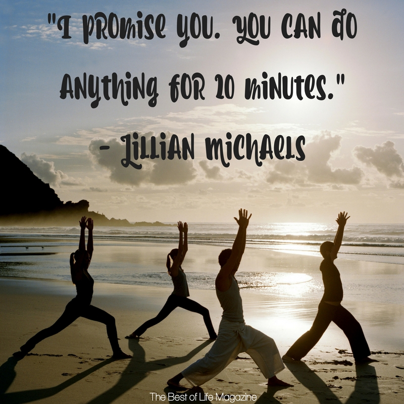 When you need some inspiration, there's no better help than these Jillian Michaels quotes from Ripped in 30! She's tough but fair, chin up champ!