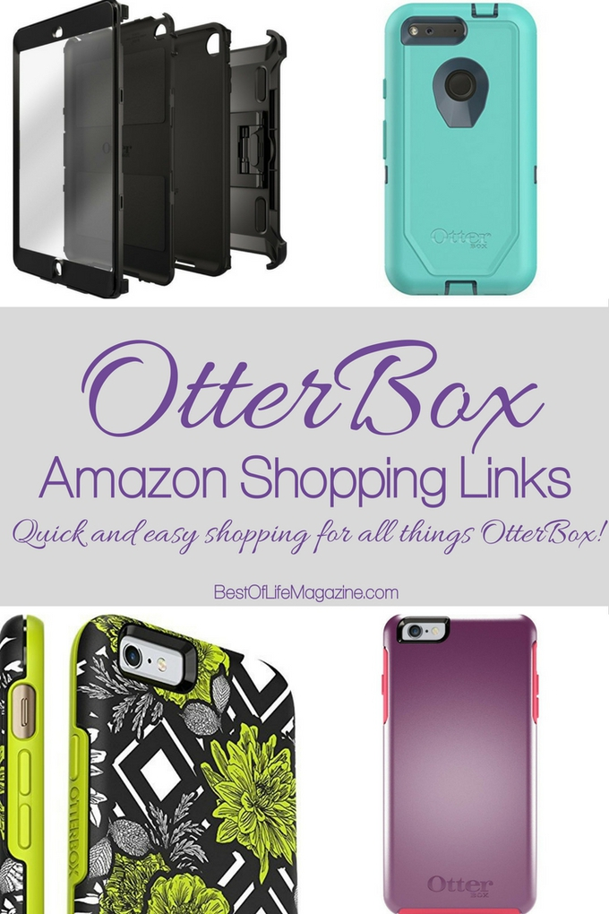 These Otterbox Amazon shopping links will help you easily find all of the great products available to you from Otterbox and Amazon! Smartphone Tips | Otterbox Tips |Tech Tips | High Tech | Smartphone Cases #tech #otterbox via @amybarseghian