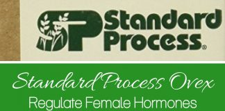 Standard Process Ovex is a natural product that you can use to regulate female hormones! It helps pain, irregular cycles, and other hormone based issues.