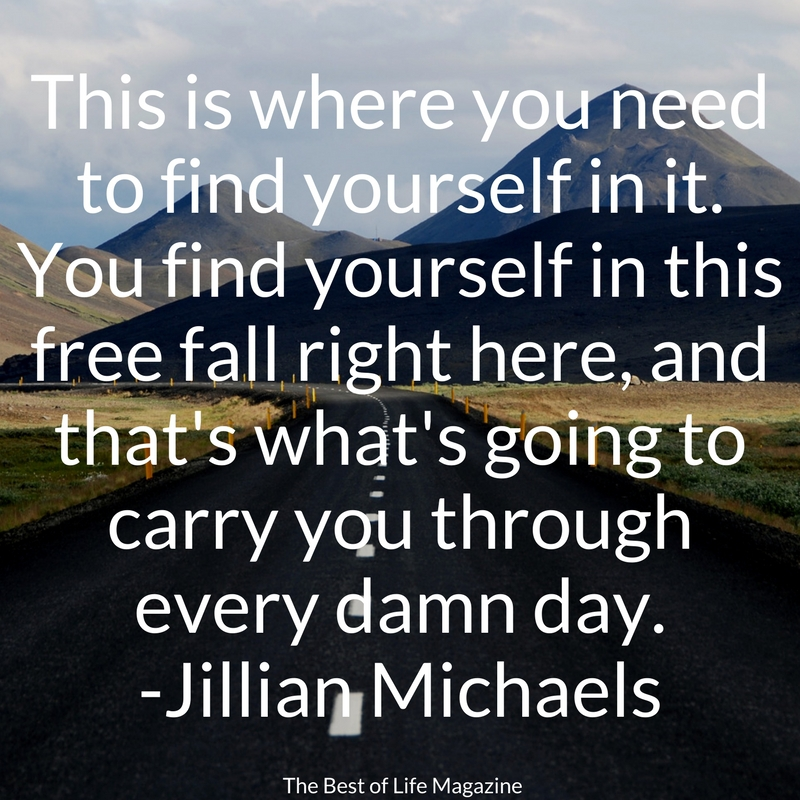 When you need some inspiration, there's no better help than these Jillian Michaels quotes from Ripped in 30! She's tough but fair, chin up champ! Jillian Michaels Workouts | Fitness Quotes | Fitness Motivation | Motivational Quotes | Inspirational Quotes | Fitness Inspiration