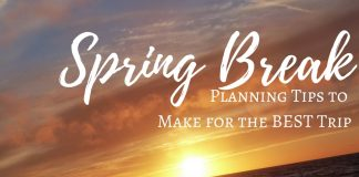 The best spring break planning tips you will find include ideas for families, friends, couples and singles to enjoy this time of year.