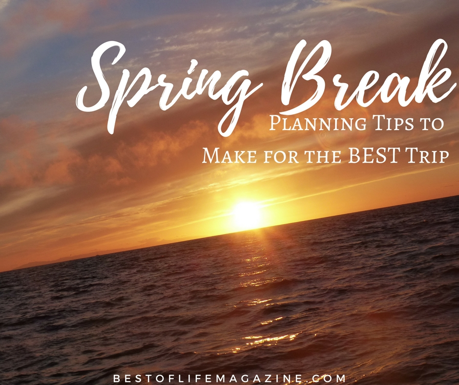 The best spring break planning tips you will find include ideas for families, friends, couples and singles to enjoy this time of year. Spring Break Ideas   Spring Break Trips   Spring Travel Ideas   Travel Tips