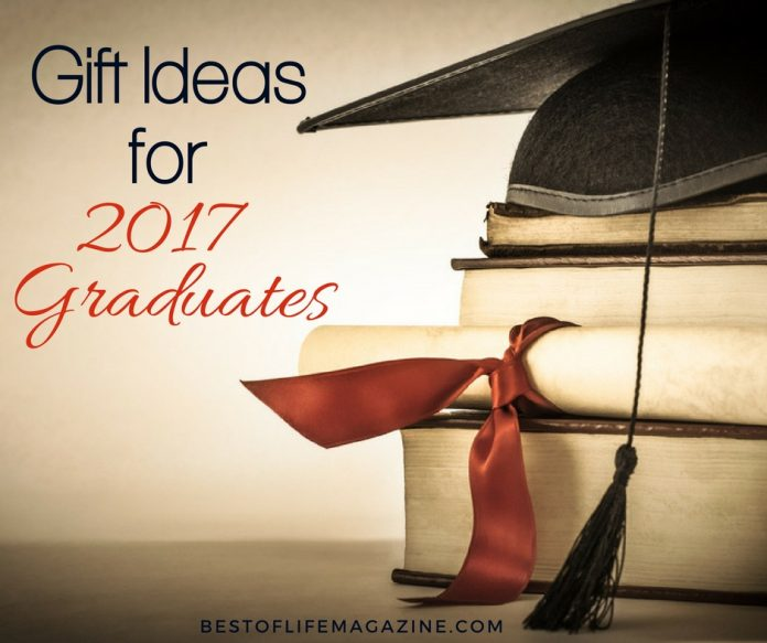 Graduation is coming and it's time you find the perfect gift for the 2017 graduates in your life so they can enter the next chapter of their life.