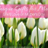 Celebrate mom this Mother's Day with the best unique gifts for mom and make sure she knows just how grateful you are for her being her. Gift Ideas for Mom | Gift Ideas for Women | Gifts for Women | Mother's Day Gift Guide