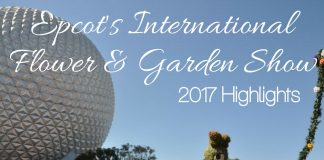 The magic of springtime comes alive every year at Walt Disney World during Epcot's International Flower & Garden Show and 2017 was no different.