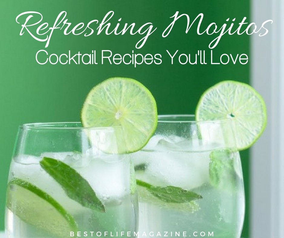 Looking for the most refreshing drinks with rum? You'll find what you're looking for in the best mojito cocktail recipes around. What is a Mojito | Cocktail Recipes for Parties | Mojito Recipes | Easy Mojito Recipe | Mojitos for Parties