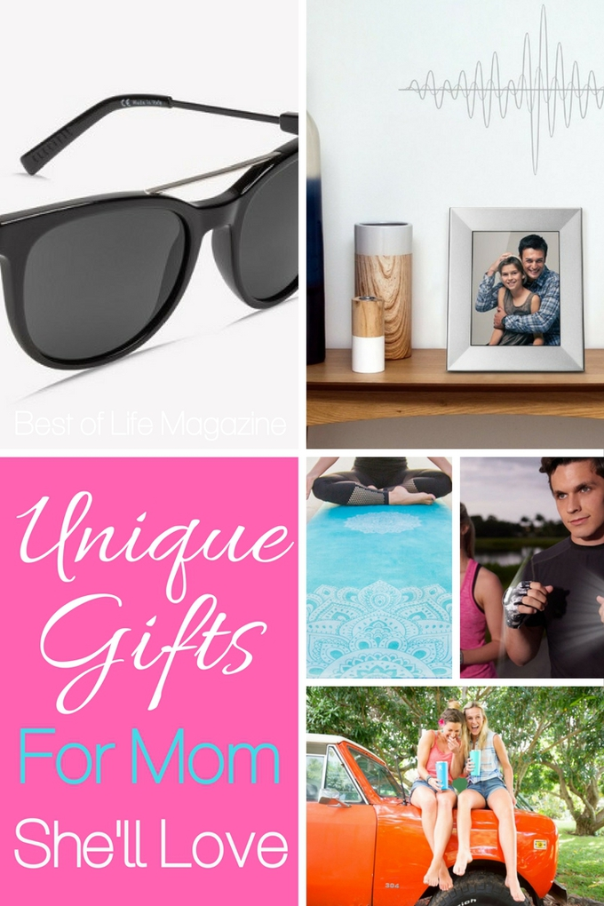 Celebrate mom this Mother's Day with the best unique gifts for mom and make sure she knows just how grateful you are for her being her. Mother's Day Gift Ideas | Gifts for Mom | Gifts for Women | Women's Gift Ideas #giftguide #mothersday