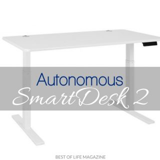 Feel the health benefits of a sit to stand desk by standing at the Autonomous SmartDesk 2 instead of sitting at your desk for hours each day. Smart Desk | Standing Desk | Desk Fitness | Desk Health | Health Tips | Smart Home Tech | Smart Tech
