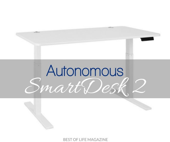 Autonomous Smartdesk 2 Review And Video The Best Of Life