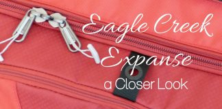 Eagle Creek has introduced the Eagle Creek Expanse line of luggage that is built to last through the travels of even the most adventurous of travelers. Travel Suitcase | Travel Tips | How to Pack for a Trip | What to Pack for a Trip