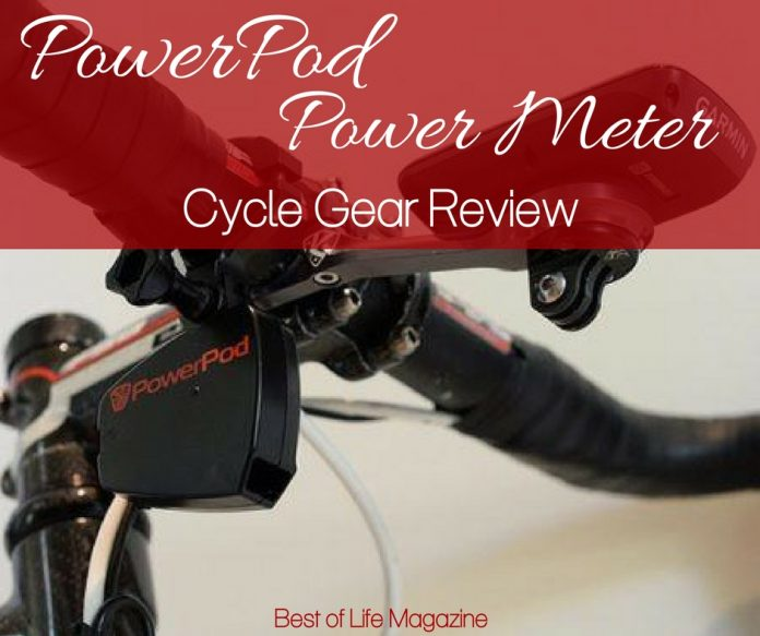 If you're in need of some great cycling gear to help you track your work, the PowerPod Power Meter is what you need.