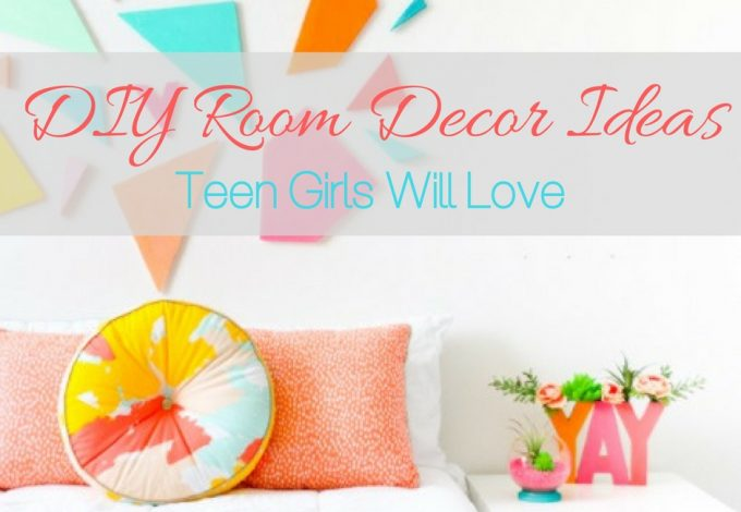 Use the best DIY room decor ideas to help you decorate your teen girl's room to her liking and save a bit of money along the way. DIY IDeas   DIY Decor   Decor for Teen Girls   Decor for Kids Room   DIY Crafts   DIY Design Ideas