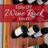 A DIY wine rack will help you showcase your wine in a unique way that only you can imagine and is one of the essential ideas for wine lovers. DIY Crafts for Wine | DIY Wine Crafts | How to Make a Wine Rack | Make a Wine Rack at Home