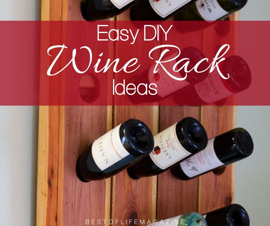 Diy wine rack ideas for wine lovers the best of life for Diy wine storage ideas