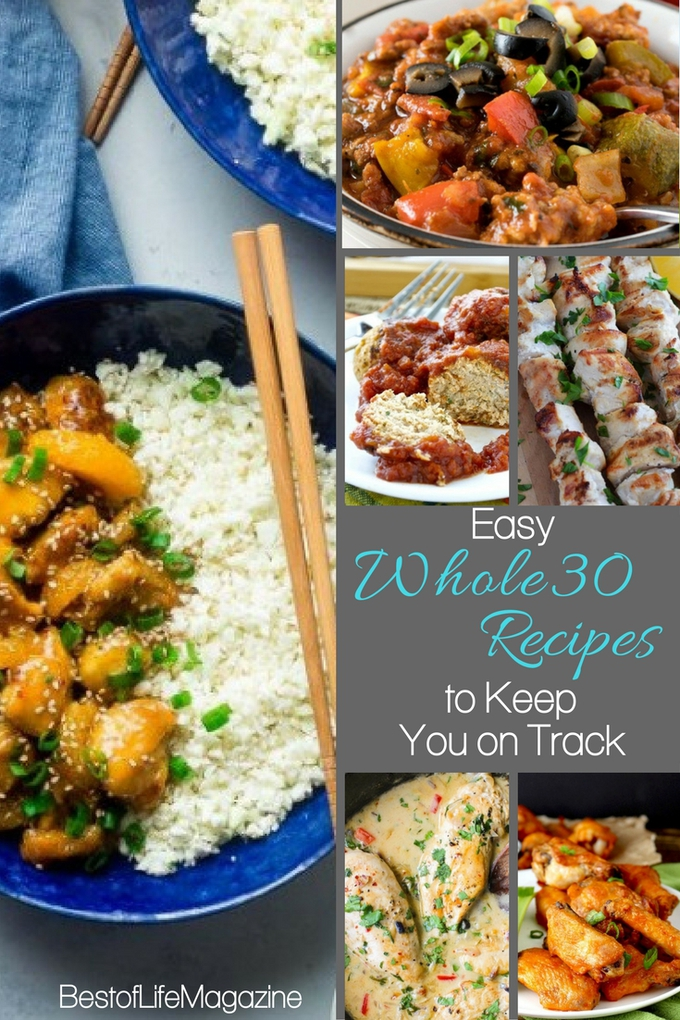 Google Header: Easy Whole30 recipes to keep you on track are ones you'll enjoy eating that will keep you as healthy as you can be on your journey to the natural you. Whole30 Lunch Recipes | Whole30 Dinner Recipes | Whole30 Weight Loss Recipes | Recipes for Weight Loss #whole30 #weightloss