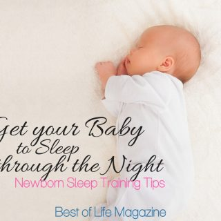 Many parents want to know how to get their baby to sleep through the night. These newborn sleep training tips will establish the importance of baby sleep in your home. Sleep Training Ideas | Parenting Tips for Sleep | Parenting Ideas for Sleep | How to Help a Baby Sleep | Get a Baby to Sleep