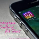 Allowing your teen to have an Instagram account will be more successful when used with a printable Instagram contract for teens and tweens. It's also important that you know some Instagram parental monitoring tips. When Kids Should Get an Instagram Account | How to Monitor Kids Social Media | Parenting Tips for Social Media | Parenting Tips for Digital Age