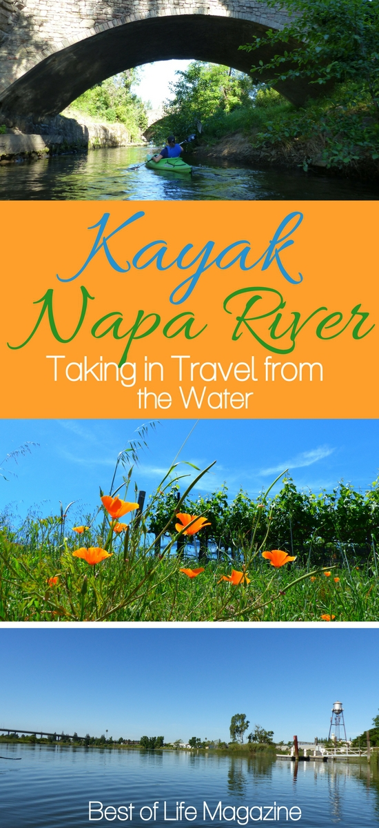 When you kayak Napa River, you take in Downtown Napa from a different perspective offering a deeper appreciation for the popular wine lover destination. Things to do in Napa | Napa Travel Ideas | Napa Activities | Northern California Travel Tips #travel #napa via @amybarseghian