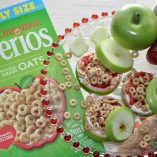 Enjoy these fresh Apple Cinnamon Cheerios snacks with strawberry fluff for a tasty gluten free recipe. These are perfect for a fun after school snack for kids and adults will love them, too. Snacks for Kids | Healthy Snack Ideas | Healthy Foods for Kids | Kids Breakfast Snacks | Recipes for Kids