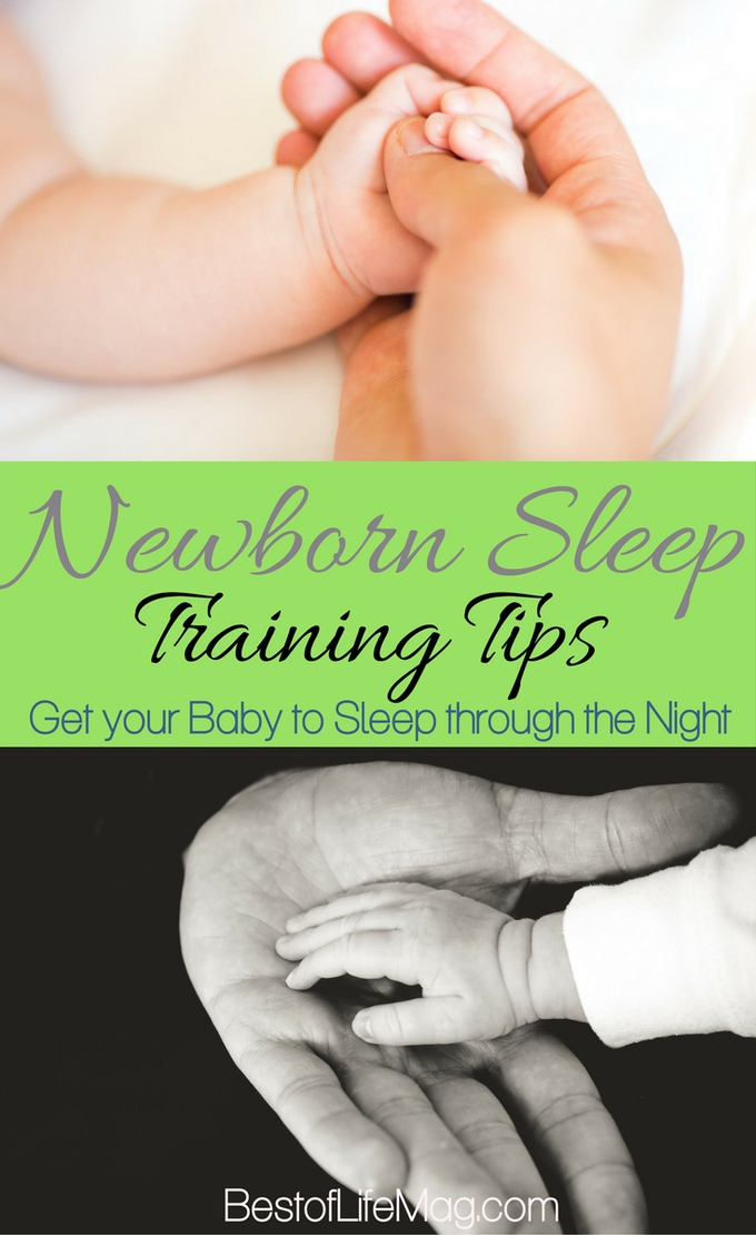 Many parents want to know how to get their baby to sleep through the night. These newborn sleep training tips will establish the importance of baby sleep in your home.