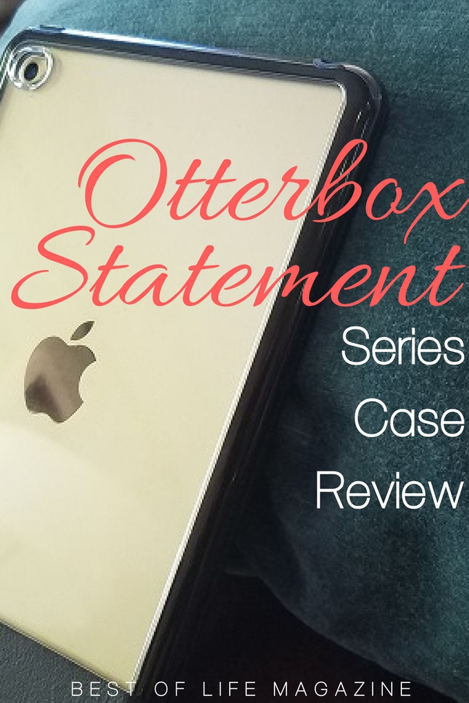 Trying to make a statement with tech can be difficult but the Otterbox Statement series case for iPad makes a statement with class. Otterbox Case Tips | Cases for iPad | iPad Case Reviews | How to Protect iPads #otterbox #ipad