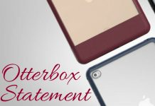 Trying to make a statement with tech can be difficult but the Otterbox Statement series case for iPad makes a statement with class.