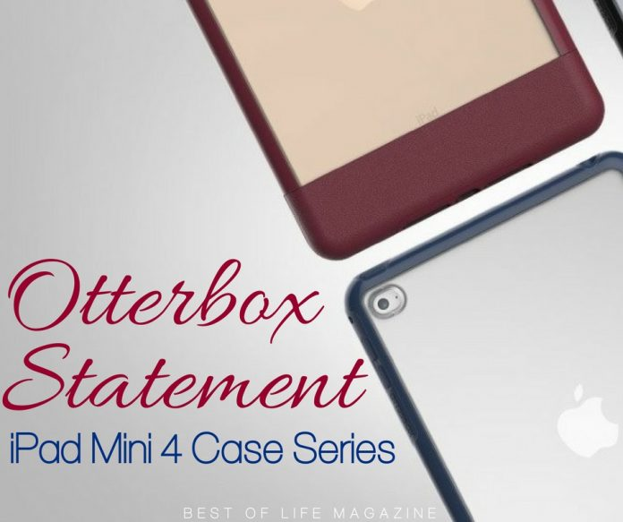 Trying to make a statement with tech can be difficult but the Otterbox Statement series case for iPad makes a statement with class. Otterbox Case Review | Otterbox Statement Case | Otterbox Case for iPad Mini | iPad Mini Case