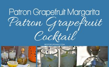 Making a Patron Grapefruit Cocktail is easy! This Patron Grapefruit Margarita recipe is simple, delicious, and perfectly refreshing. Everyone will love it! Patron Citronge Orange Liqueur makes all the difference.