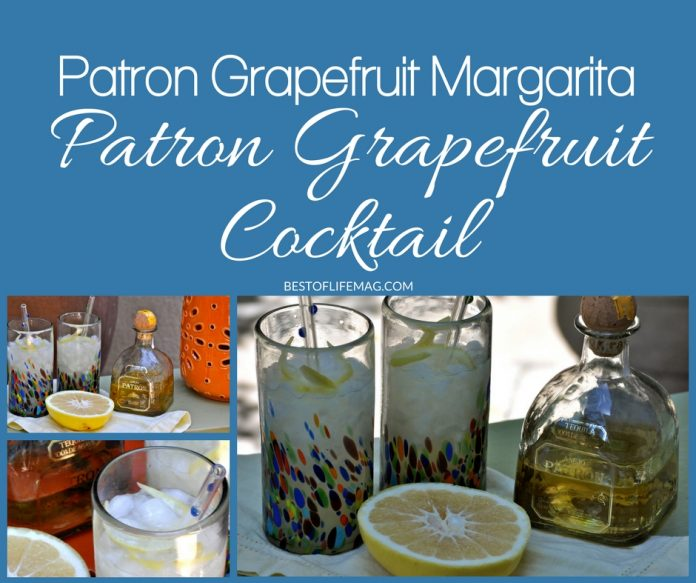 Making a Patron Grapefruit Cocktail is easy! This Patron Grapefruit Margarita recipe is simple, delicious, and perfectly refreshing. Everyone will love it! Patron Margarita Recipe | Grapefruit Margarita Recipe | Fruity Margarita Recipe | Margarita Cocktail Recipe | How to Make a Margarita