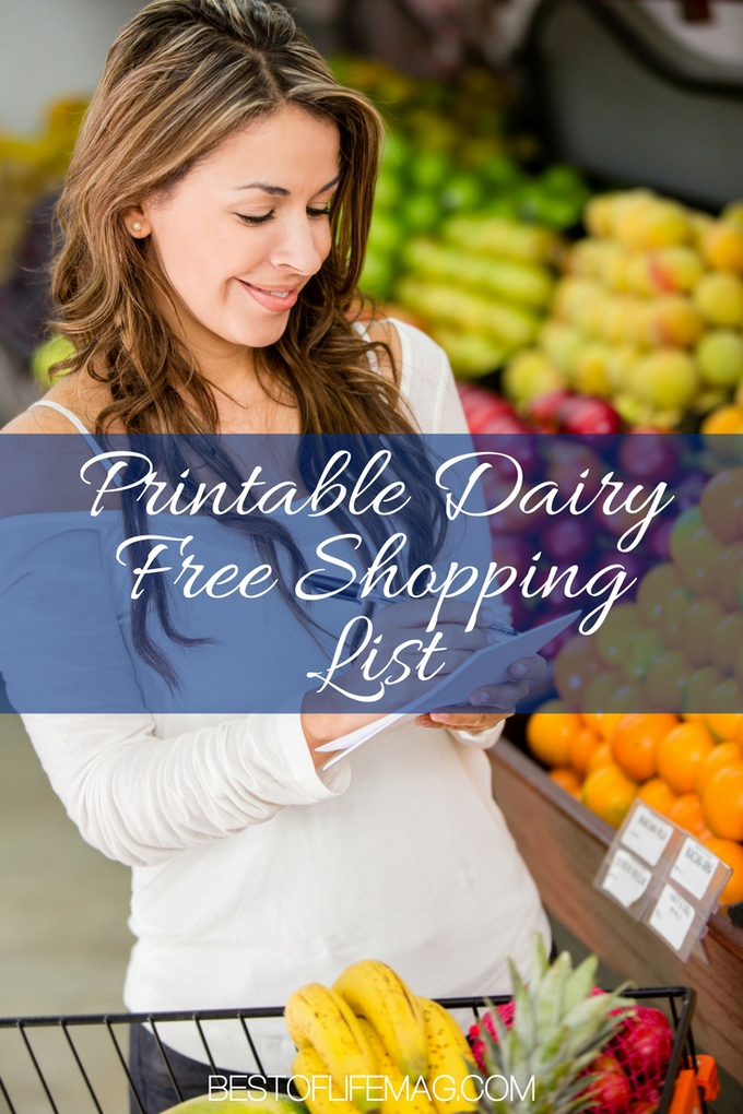 It can be hard to find the best dairy free snacks. Now you can find them two ways: on Amazon and with a printable shopping list for the store! Printable Dairy Free Tips | Dairy Free Tips | Dairy Free Ideas | Healthy Life Lists #dairyfree #printable