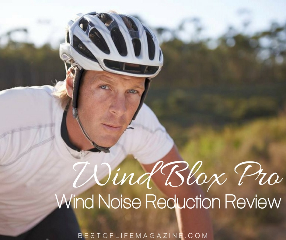 Cycling Wind Noise Reducer Wind-Blox Pro