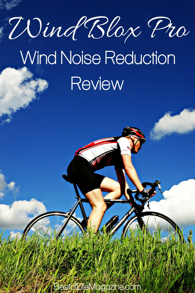 Wind Blox Pro offers wind noise reduction for all bikers that they will appreciate. Bike Ideas | Bike Gear Ideas | Fitness Reviews | Healthy Living #health #fitness