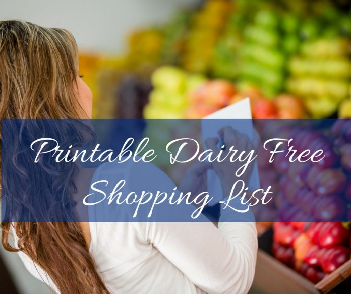 It can be hard to find the best dairy free snacks. Now you can find them two ways: on Amazon and with a printable shopping list for the store!