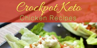 Sticking to your low carb keto diet and advancing your weight loss is easier with these delicious and easy crockpot keto chicken recipes. Keto Chicken Recipes | Keto Crockpot Recipes | Crockpot Chicken Recipes | Healthy Chicken Recipes | Crockpot Weight Loss Recipes | Chicken Weight Loss Recipes