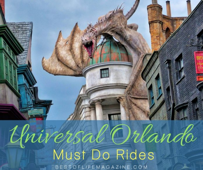If you only have a day or two to make the most of the eats and rides at Universal Orlando, these are your must do rides at Universal that can be done in one long day or two shorter days.