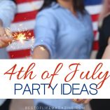 4th of July party ideas can help you decorate your home, cook some great food, and celebrate the holiday in the best way possible with family and friends. Independence Day Ideas | Fourth of July Decor | DIY Fourth of July Decorations | How to Decorate for Fourth of July