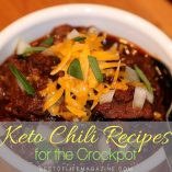If you're looking for a low carb chili recipe, look no further than keto crockpot chili. These recipes bring together the best of both worlds. How to Make Keto Chili | How to Make Low Carb Chili | Low Carb Recipes | Keto Recipes | Low Carb Chili Recipes | Keto Chili Recipe