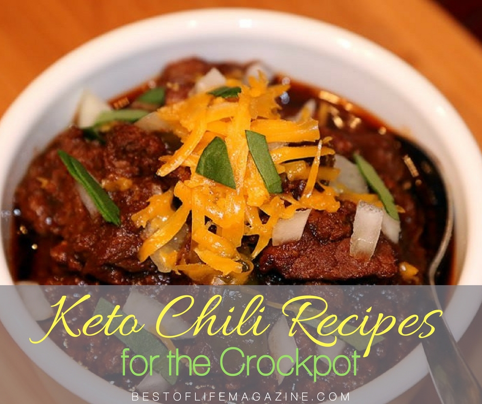 Keto Crockpot Chili Recipes Low Carb Chili The Best Of