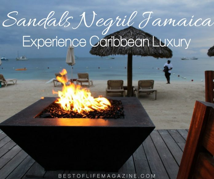 Experience casual, barefoot, Caribbean luxury at Sandals Negril Resort with the best Caribbean travel tips that will enhance your experience.