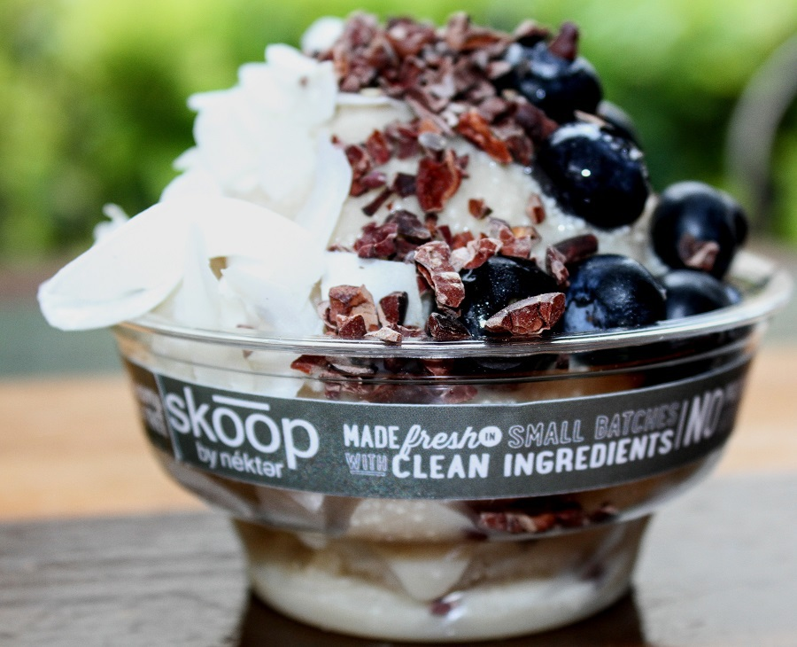 Nekter Juice Bar's new Skoop by Nekter will be your go-to frozen treat just in time for Summer! Skoop is dairy, gluten, and soy free with natural flavors!