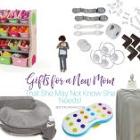 Finding gifts for a new mom can be hard! This list is sure to have something for everyone to enjoy. Even things that she might not know she needs! What to get a New Mom | New Mom Gift Ideas | Things for New Moms | What do New Moms Need