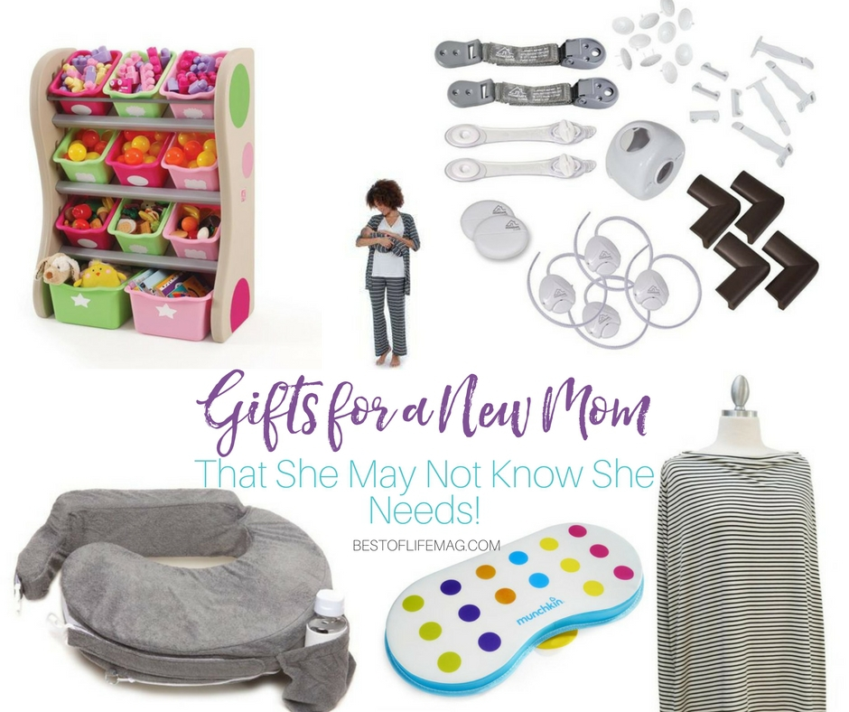 Finding gifts for a new mom can be hard! This list is sure to have something for everyone to enjoy. Even things that she might not know she needs! What to get a New Mom   New Mom Gift Ideas   Things for New Moms   What do New Moms Need
